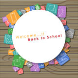 Welcome back to school. Royalty Free Stock Photos