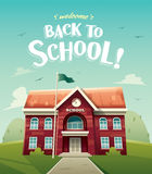 Welcome back to school! Royalty Free Stock Photography