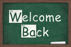 Welcome Back Royalty Free Stock Image