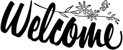 Welcome Banner stock illustration