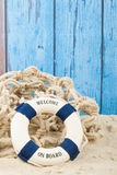 Welcome at the beach Royalty Free Stock Photo