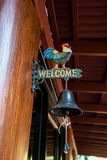 Welcome bell Stock Photos