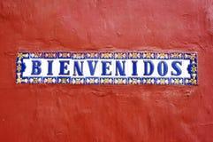 Welcome! Bienvenidos! Stock Images