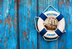 Welcome a board Royalty Free Stock Images