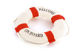 Welcome on board Royalty Free Stock Photo