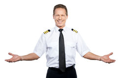Welcome on board! Stock Photos