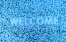 Welcome  capet texture background. Royalty Free Stock Photos