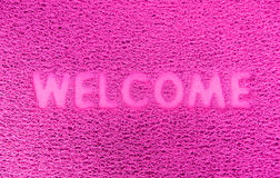 Welcome  capet texture background. Stock Photos