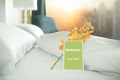 Welcome card Stock Photography