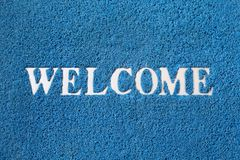 Welcome carpet Royalty Free Stock Photography