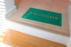 Welcome carpet Stock Photos