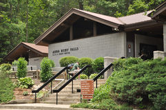Welcome Center Anna Ruby Falls, Georgia. Not news related. General interest Stock Images