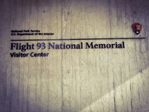 Flight 93 National Memorial royalty free stock photography