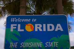 Welcome centre in Clearwater Florida USA Stock Image