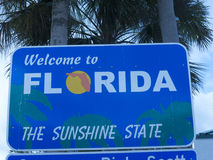 Welcome centre in Florida USA Stock Photography