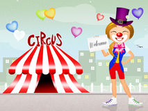 Welcome at the circus Stock Photo