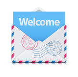 Welcome concept Stock Photos