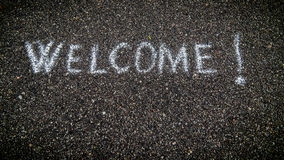 Welcome concept Stock Photography
