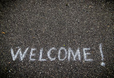 Welcome concept Royalty Free Stock Photography