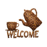 Welcome. Stock Photography
