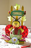 Welcome decoration Stock Images