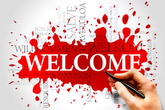 Welcome Royalty Free Stock Photo