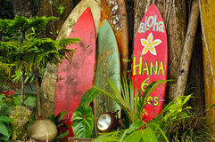 Welcome Display On The Road To Hana Royalty Free Stock Images