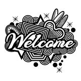 Welcome doodles. vector illustrator. EPS file available. see more images related vector illustration