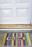 Welcome doormat Royalty Free Stock Photos