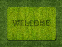Welcome doormat Royalty Free Stock Photo