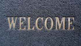 Welcome doormat Royalty Free Stock Photography