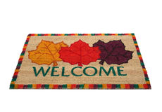 Welcome Doormat Royalty Free Stock Image