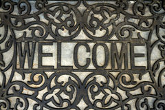 The welcome doormat Stock Image