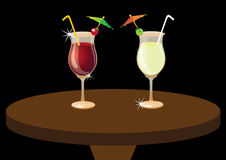 Welcome Drinks Royalty Free Stock Photos
