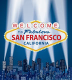 Welcome Frisco stock illustration