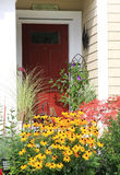 Welcome front door Stock Image