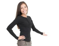 Welcome greeting gesture Royalty Free Stock Photos