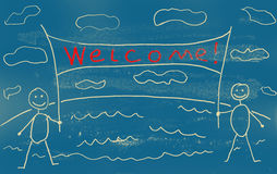 Welcome! Stock Photo