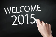 Welcome 2015 Royalty Free Stock Image