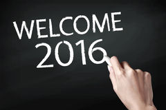 Welcome 2016 Royalty Free Stock Images