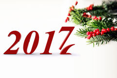 Welcome 2017. Happy new year 2016 - 2017 Stock Photo