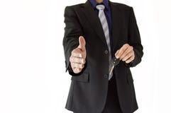 Welcome his rental car company Stock Photos