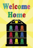Welcome home Stock Images