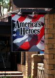 Welcome Home America's Heroes! Royalty Free Stock Images