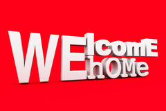 Welcome home Stock Image