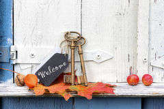 Welcome at home Royalty Free Stock Images