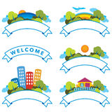 Welcome Land Stock Photo