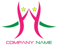 Welcome logo Royalty Free Stock Photography