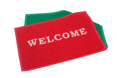 Welcome mat Royalty Free Stock Photography