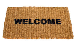 Welcome mat Royalty Free Stock Image